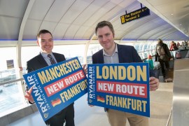 Ryanair launches new Manchester to Frankfurt service