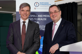 British Business Bank and Northern Powerhouse Investment Fund Keith Morgan and Roger Marsh