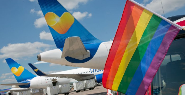 Manchester Airport and Newcastle Pride - win tickets to San Francisco