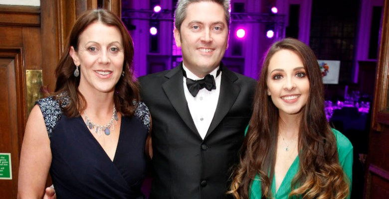 Clarke Nicklin's Julie Etchells, Ben Poland and Chelsea Maher organisers of Stockport Business Awards