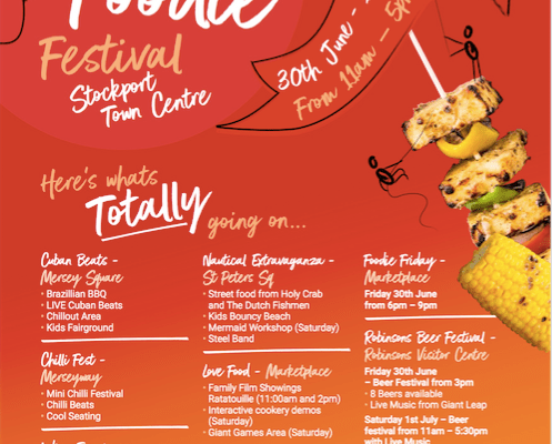 Totally Stockport Totally Foodie festival comes to Stockport