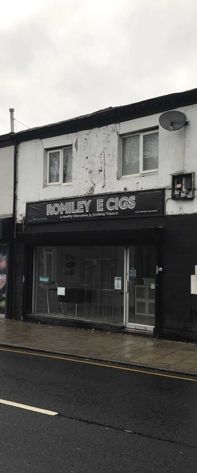 Romiley Retail for rent