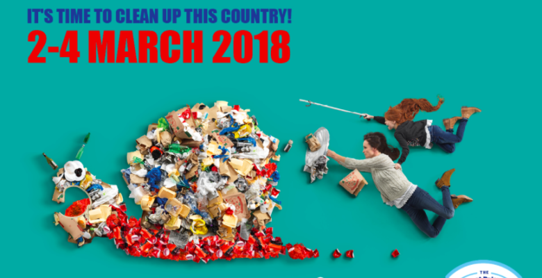Stockport is joining in the Great British Spring Clean 2018