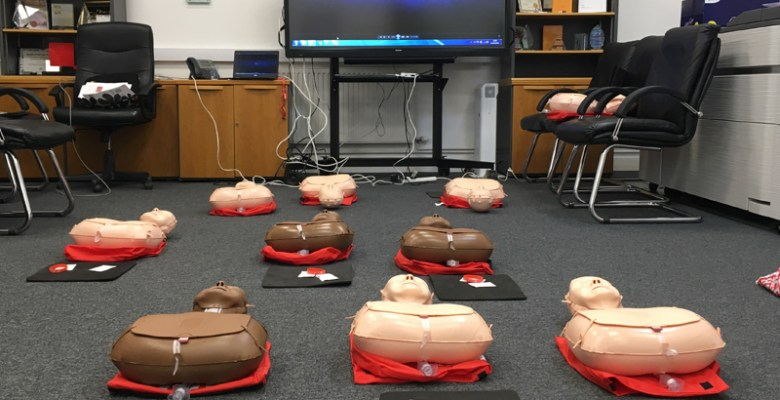 Midshire lined up for life saving CPR Class
