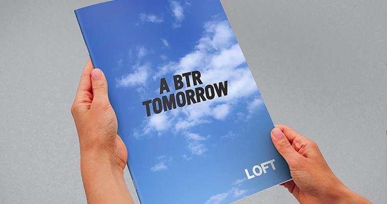 Stockport agency Devote design for a BTR tomorrow