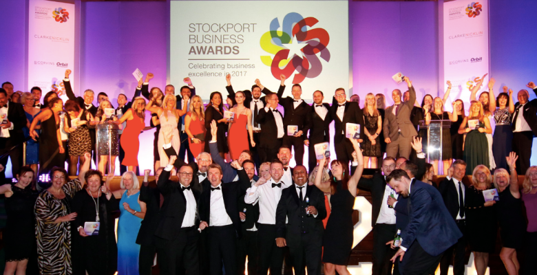 Winners at the Stockport Business Awards 2017