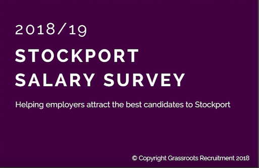 Stockport salary survey shows Employment Forecast Upbeat in Stockport