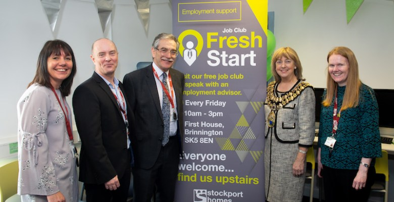 Supported by Stockport Homes and partners, Fresh Start launched in Stockport