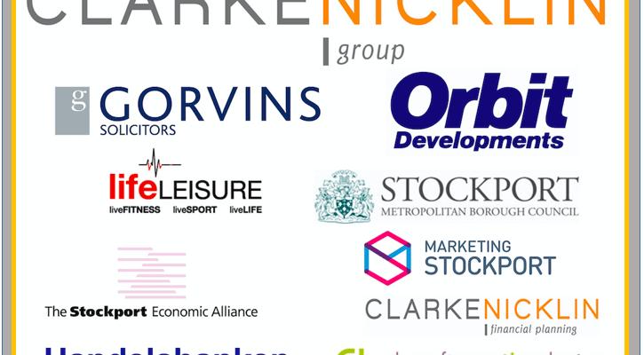 Stockport business awards Sponsor logos
