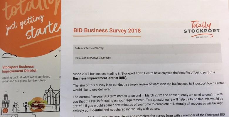 Stockport BID Business Survey