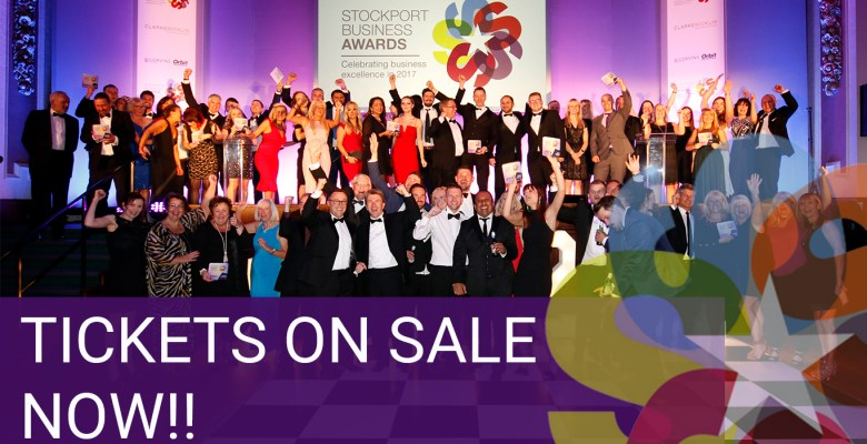 Tickets now on sale for the Stockport Business Awards 2018