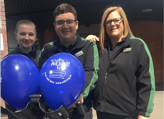 M&S Simply Food staff show healthy appetite for fundraising