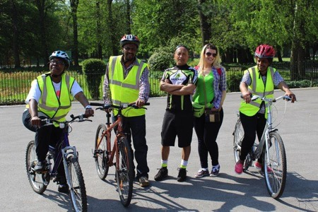 TfGm launch Learn to Ride scheme in Stockport