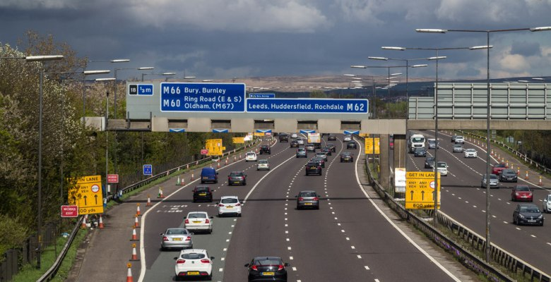 M60 Greater Manchester study for perfect commuter journey