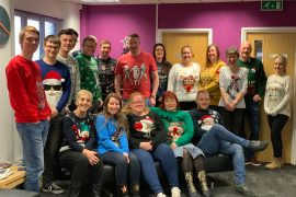 Bennett Verby Christmas_jumper_day_2018