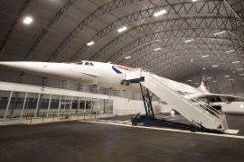 Manchester Airport Runway Visitors Park Concorde
