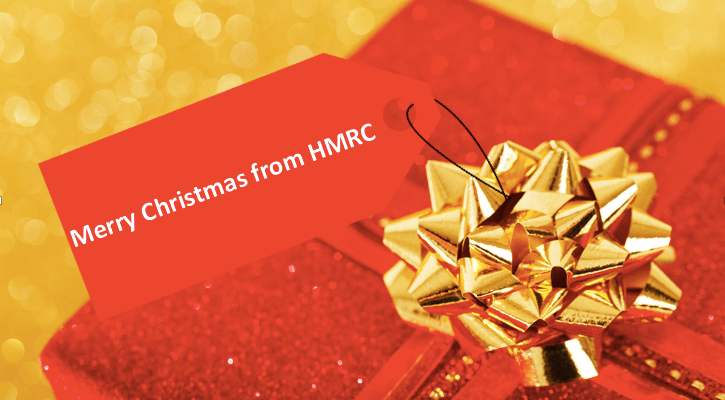 Merry Christmas from HMRC