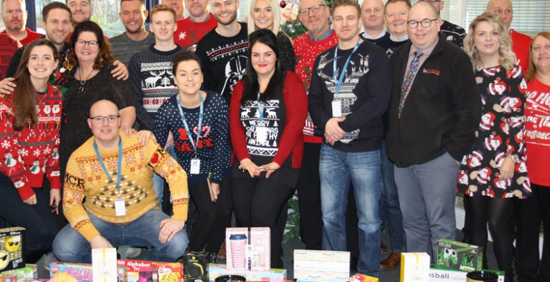 Midshire's Christmas Jumper Day raised £350 for Cash for Kids