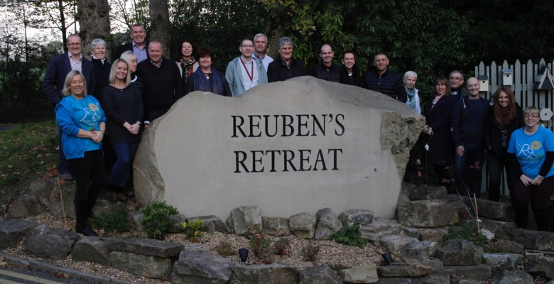 Stockport Homes support Reuben's Retreat