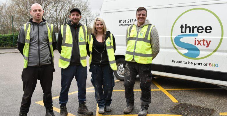 Three Sixty Apprentices - Andrew Donoghue, Jamie Markwell, Chantel Davies, Liam Gee