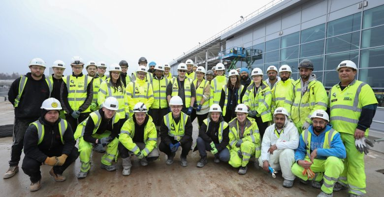 Manchester Airport welcomes 100th apprentice to transformation programme