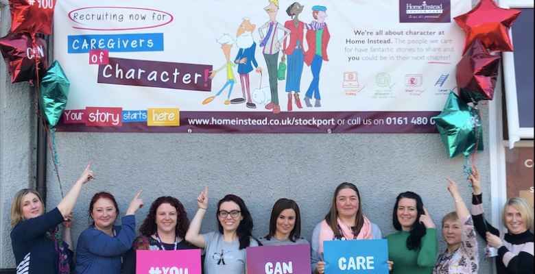 Stockport care company recruiting 100 new care workers