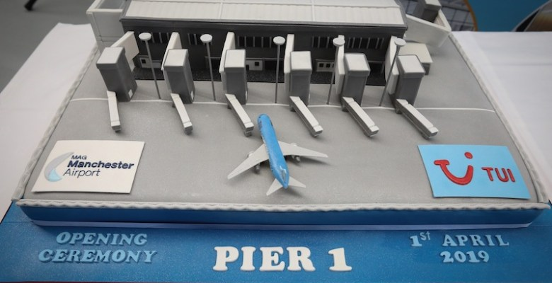 Manchester airport new pier