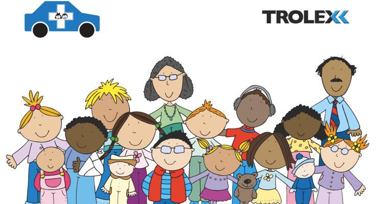 Trolex support Transport for Sick Children