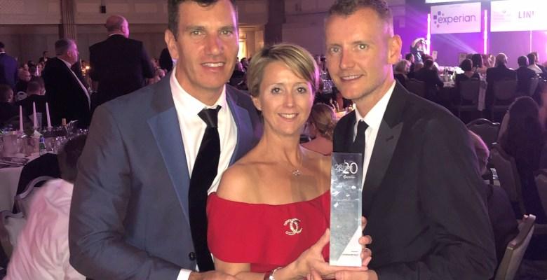 Credit Strategy Award winners Savvy - mark bowker natalie blain paul rogan