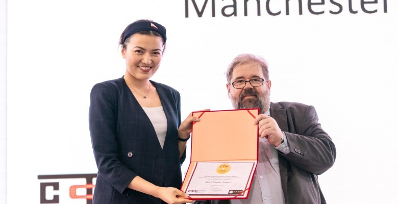 Manchester Airport wins Chinese Tourist Award