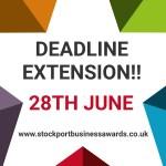 Stockport Business Awards 2019 deadline