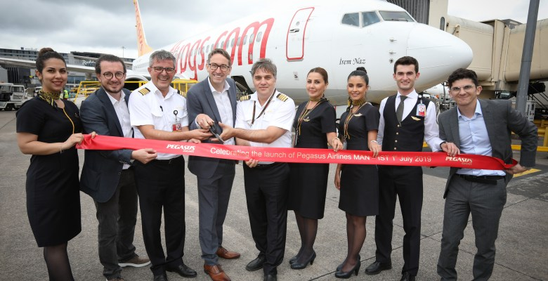 Pagasus celebrates daily flights from Manchester to Istanbul
