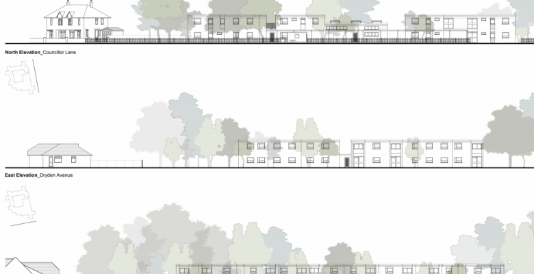 Plans for 53 Cheadle apartments
