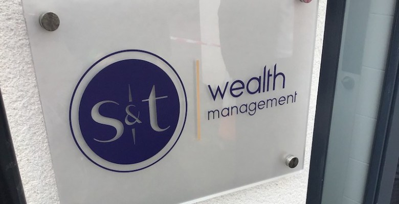 S and T Wealth management logo