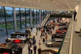 New mercedes dealership in Stockport
