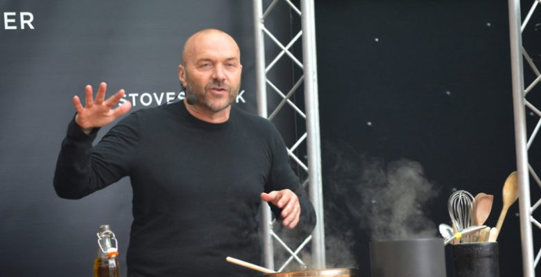 Stockport Food and Drink Festival starred Simon Rimmer