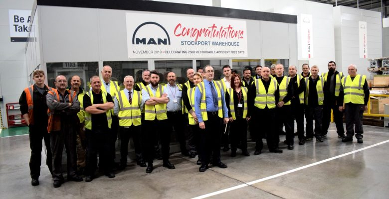 MAN Energy Solutions celebrate 2,500 accident free days