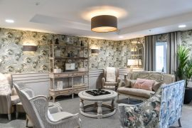 A typical interior from New Care home Bramhall