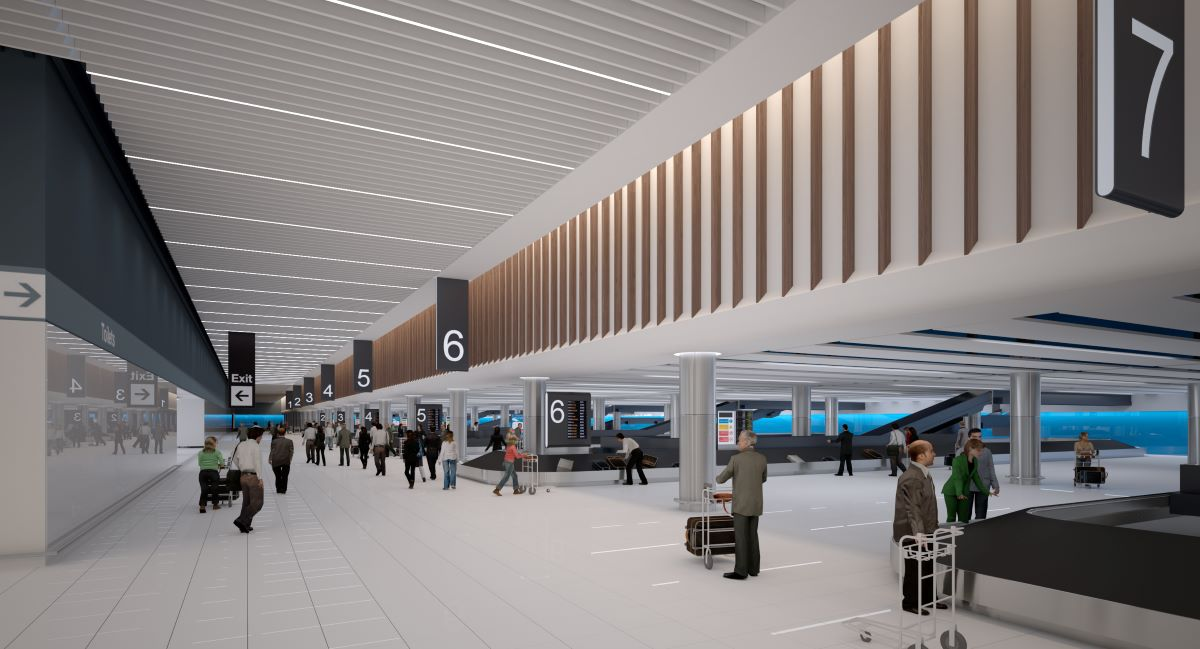 New baggage reclaim facilities will open at Manchester Airport Terminal 2 the second half of 2020.