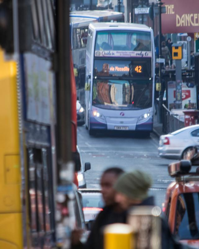 Greater Manchester launches new consultation on bus reform proposals