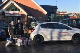 John Delany Motors donate to Wellspring