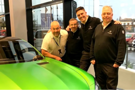 Mercedes-Benz of Stockport double Movember fundraising target