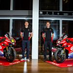 Stockport's Christian Iddon, and superbike teammate Josh Brookes 1