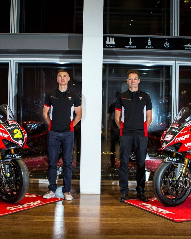 Stockport Superbike rider launches season at London's Shard