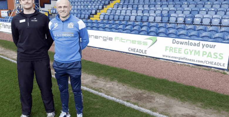Cheadle Gym Energie Fitness in sponsorship deal with Stockport County