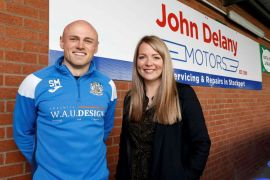 Hatters on the road again with John Delany Motors