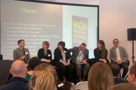 Stockport Business Summit panel at LSH Auto