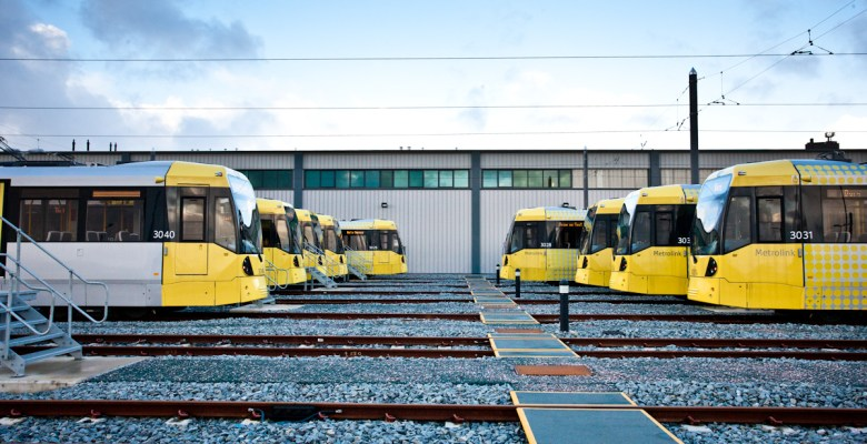 Greater Manchester Metrolink benefits from government light rail support