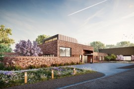 Proposal for redevelopment of St Ann's Hospice, Stockport