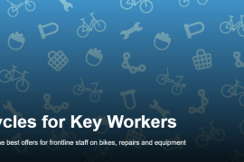 Stockport Council support Sustrans Key Worker Bike initiative